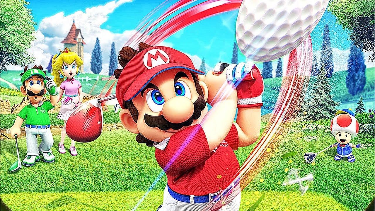 Novo EXCLUSIVO de Nintendo Switch | Mario Golf Super Rush Gameplay