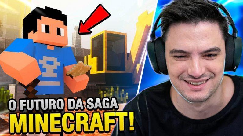 O FUTURO DA SAGA MINECRAFT E NOSSO CANAL [+10]