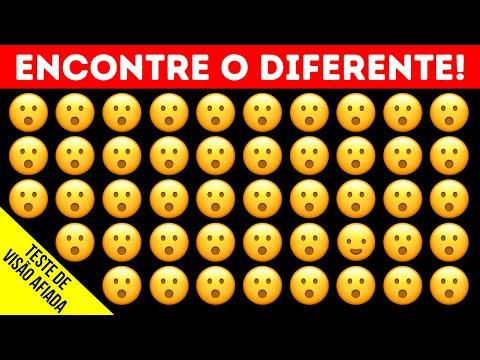 Teste de Emoji Para Verificar seus Olhos e o seu Tempo de Reação