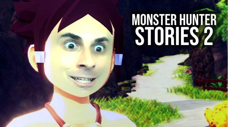 MONSTER HUNTER STORIES 2 - Impressionante Início de Gameplay, em Português PT-BR!