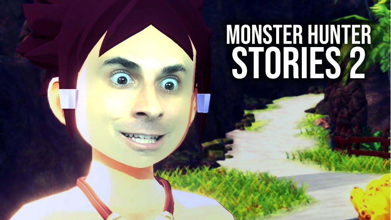 MONSTER HUNTER STORIES 2 – Impressionante Início de Gameplay, em Português PT-BR!