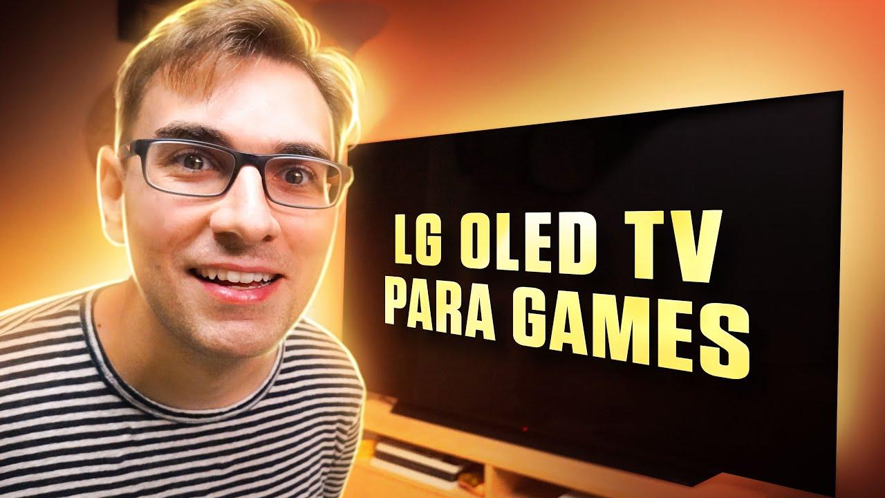 A Nova MELHOR TV para Games em 2021 | LG OLED TV C1 – 4K 120Hz HDR