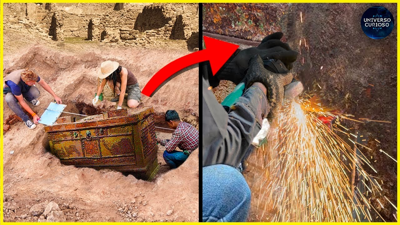 Eles descobriram algo neste cofre de 2000 anos que sobreviveu a uma erupção!