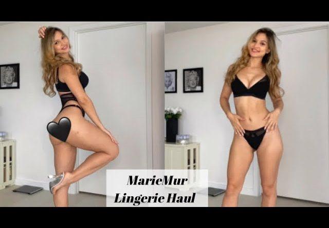 MarieMur Lingerie Haul