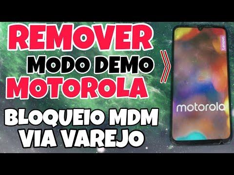 REMOVER BLOQUEIO VIA VAREJO MDM MOTOROLAS EM MODO DEMONSTRAÇÃO/ MODO DEMO