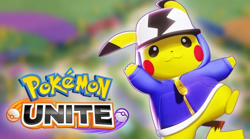 POKEMON UNITE - Jogo GRÁTIS de Combate Pokémon! | O Início de Gameplay