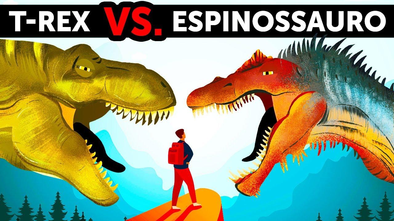 Um Dinossauro Mais Rápido e Maior Que o T-Rex, mas Quem Vence Uma Luta Cara a Cara
