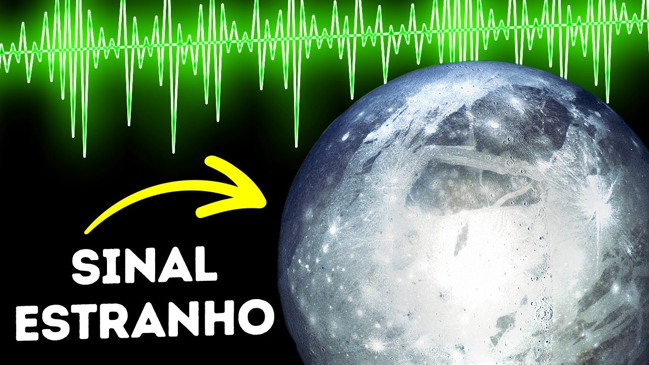 Um Estranho Sinal Detectado na Lua de Júpiter