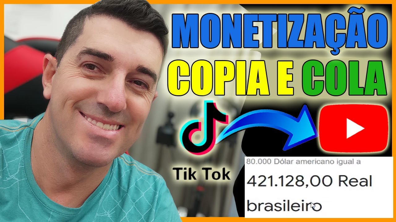 [REVELADO] Monetizado R$ 421.128,00 Copiar e Colar   Como Ganhar dinheiro no Youtube