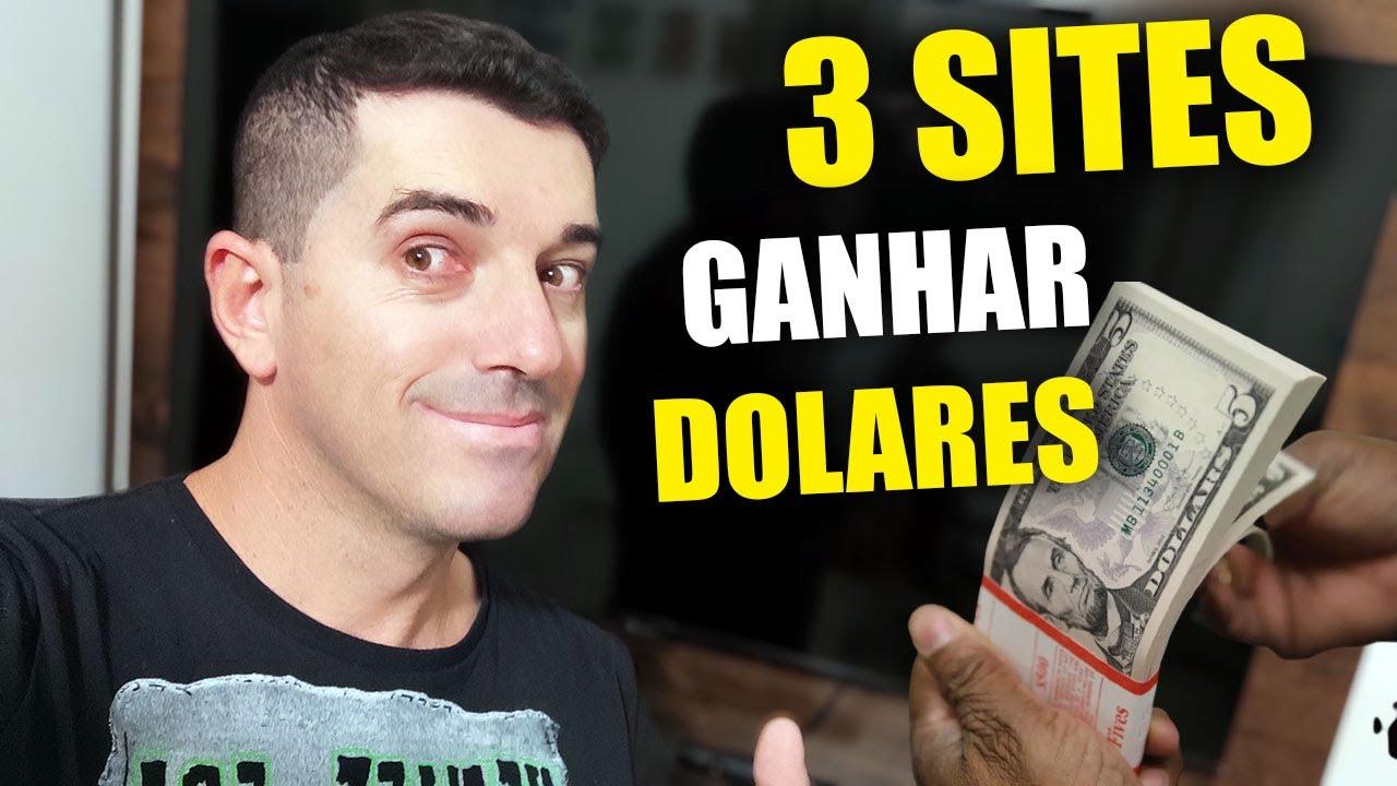 3 Sites que Pagam em Dolares Como Ganhar dinheiro na Internet em Dólar