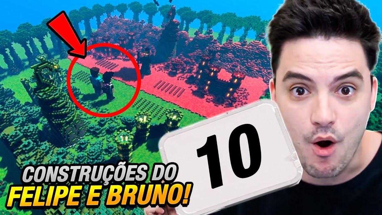 AVALIANDO CONSTRUÇÕES – FELIPE E BRUNO!