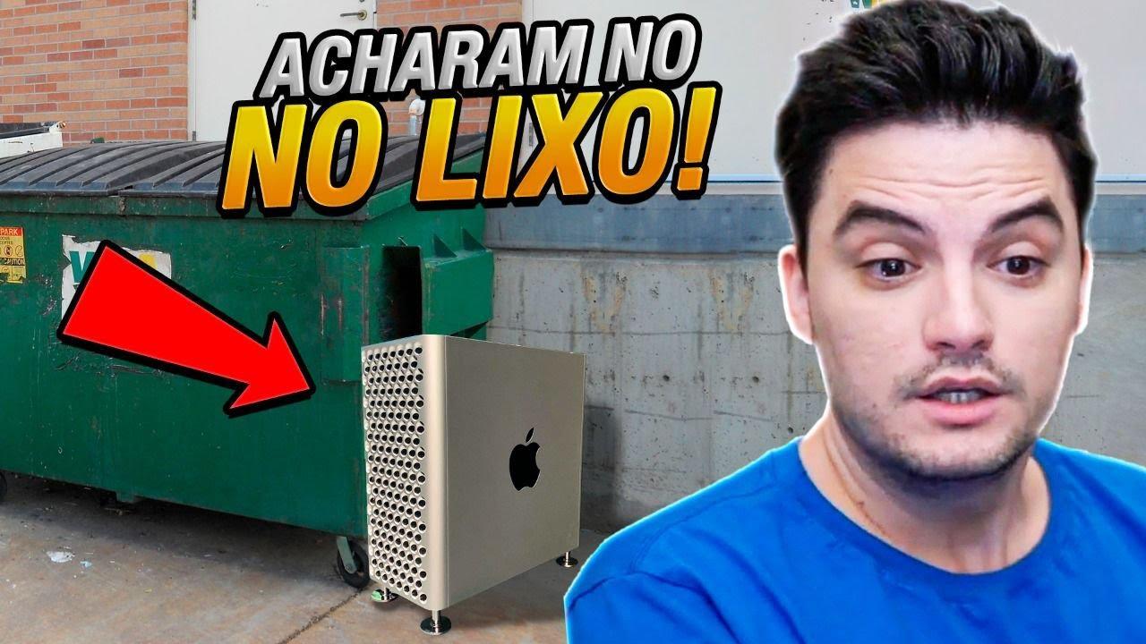 COISAS INACREDITÁVEIS QUE FORAM ENCONTRADAS NO LIXO!