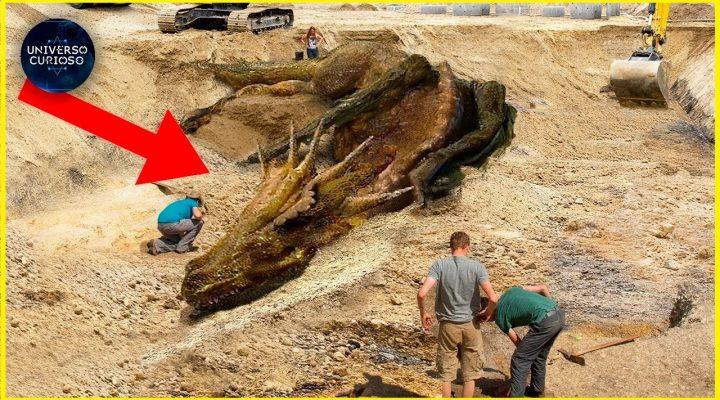 Eles descobriram uma criatura Pré-Histórica assustadora…