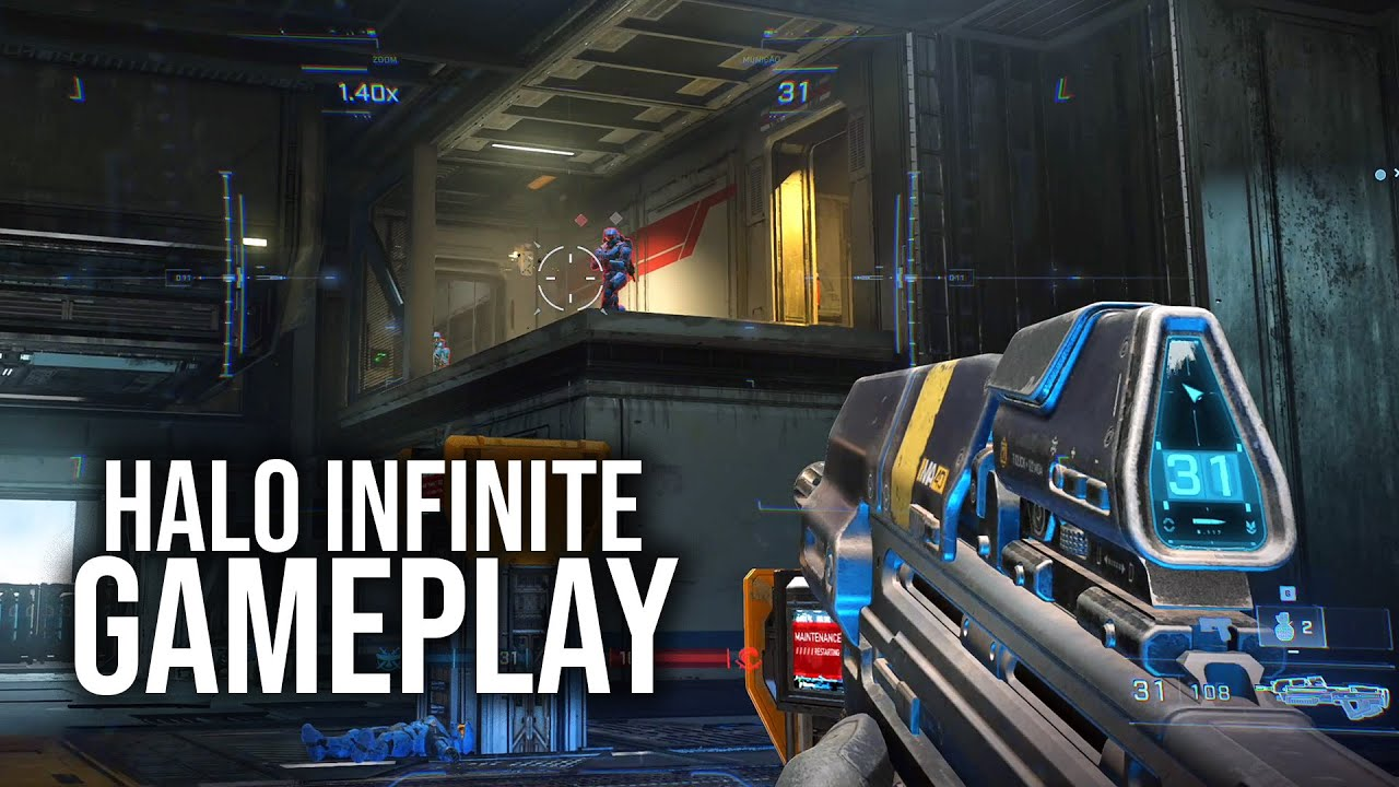 HALO INFINITE – Gameplay do Multiplayer!