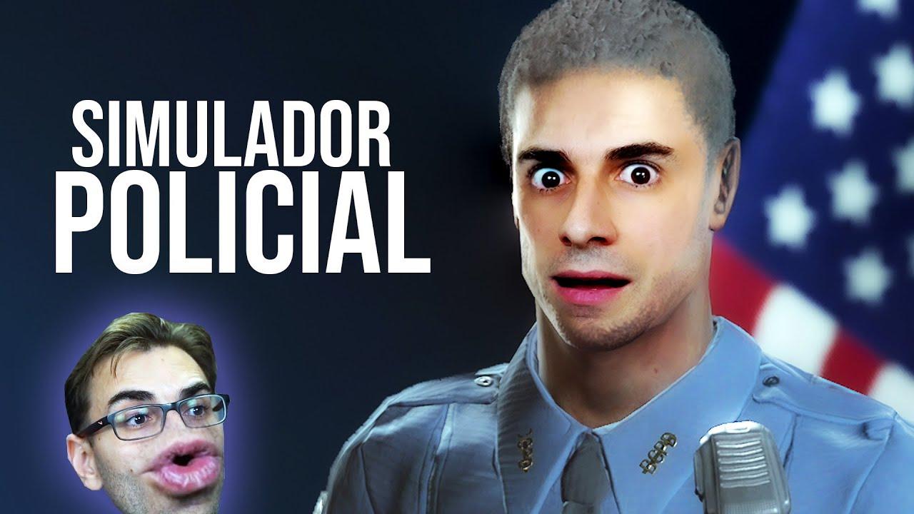 Jogo de SIMULADOR DE POLÍCIA!