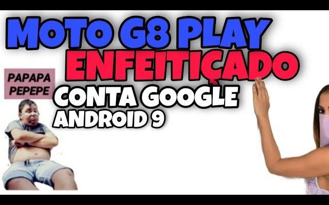 como remover conta Google do moto g8 play  no Android 9