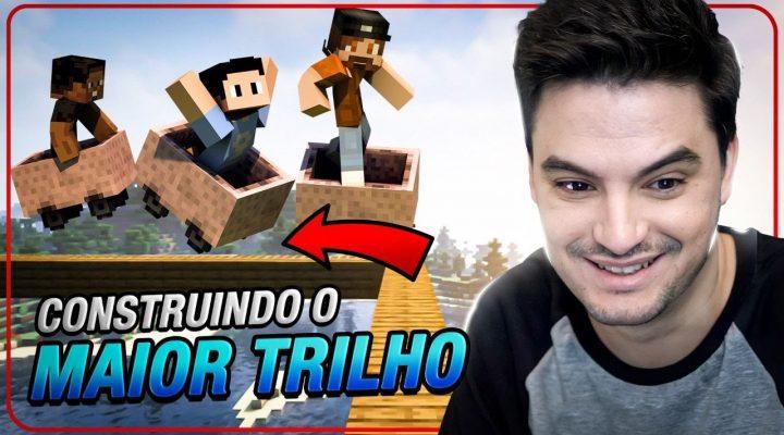 CONSTRUINDO O MAIOR TRILHO DO MUNDO