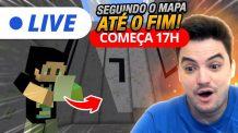 LIVE 17H – INDO ATÉ O FIM DO LABIRINTO! [+10]